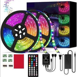 LED Strip Lights, 5050 RGBIC Waterproof 32.8ft